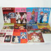 National Doll World Magazine 11 Issues 1984