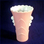 Anchor Hocking Fired-On Pink Vitrock Deco Table Vase