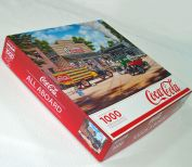 All Aboard Coca Cola Train Springbok Jigsaw Puzzle