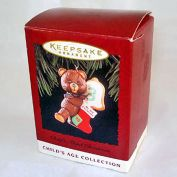 Hallmark 1995 Child's Third 3rd Christmas Ornament