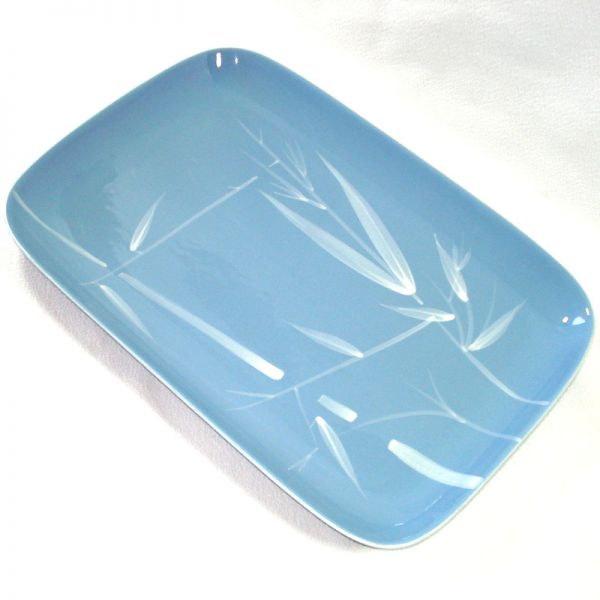 Winfield China Blue Pacific 14 Inch Serving Platter