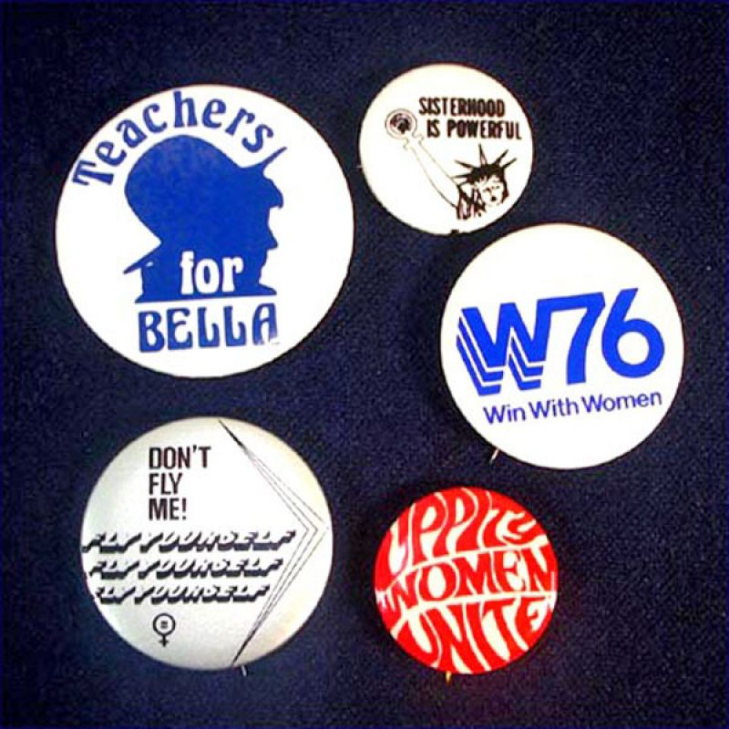 Lot of 7 Vintage Frank Church Presidential Campaign Pinback Buttons 1976