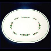 Corelle Christmas Holly Days Oval Platter