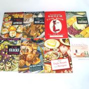 Lot Culinary Arts, Advertising Cookbooks, 1936 - 1949 Plus Extras