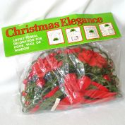 1973 Christmas Floral Door Wall Decoration Mint in Package