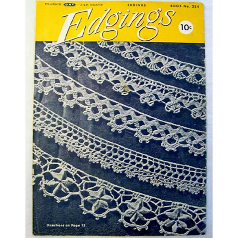 Copperton Lane Coats And Clarks Edgings 1949 Crochet Pattern