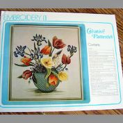 British Creative Patterns 1975 Embroidery Pattern Book