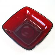 Anchor Hocking Royal Ruby Charm Fruit Dessert Bowl