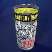 1975 Kentucky Derby Glass Mint