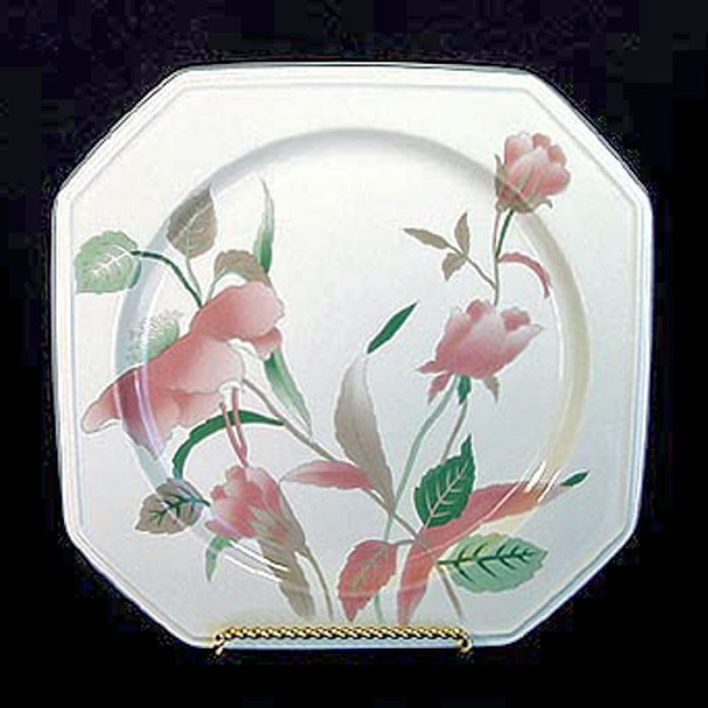 Copperton lane mikasa silk flowers square platter china and mikasa silk flowers square platter mightylinksfo