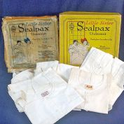 1922 Box 5 Unused Sealpax Child Undersuits Union Suits Size 4