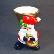 Fitz And Floyd 1976 Santa Claus Christmas Planter Vase