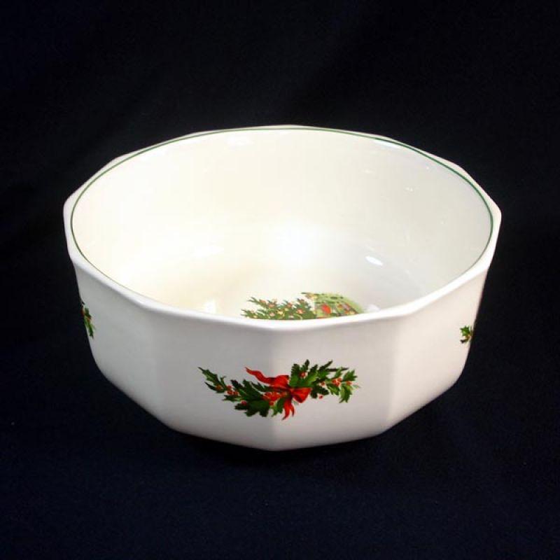Pfaltzgraff Christmas Heritage Big Salad Serving Bowl & Copperton Lane: Pfaltzgraff Christmas Heritage Big Salad Serving ...